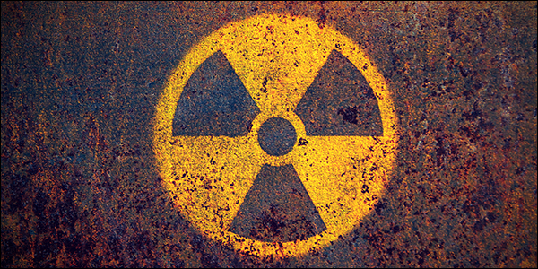 dangerous ionized radiation symbol
