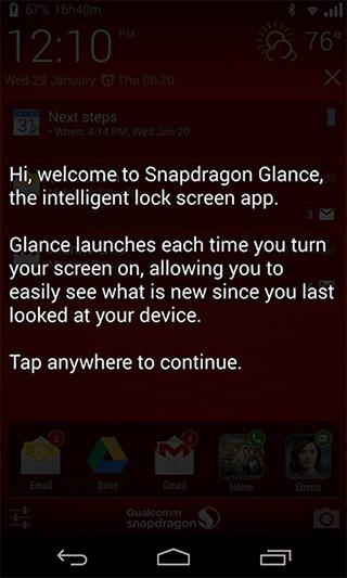 Wprowadzenie do Snapdragon-Glance